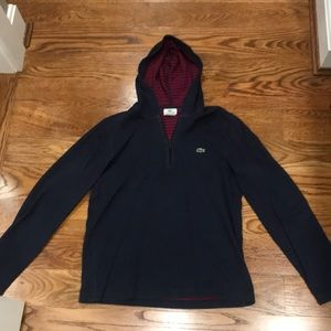 Navy Lacoste pullover